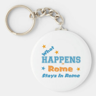 What stays in Rome Key Chain