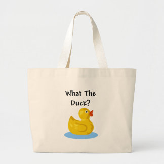 What The Duck? Tote Bags