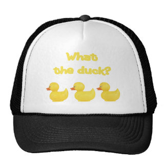 What the Duck? Hat