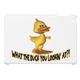 What The Duck You Lookin At iPad Mini Covers