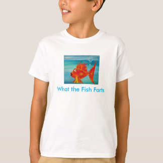 what the fish farts kids t-shirts