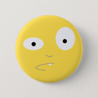 What the Floyd Face 6 Cm Round Badge