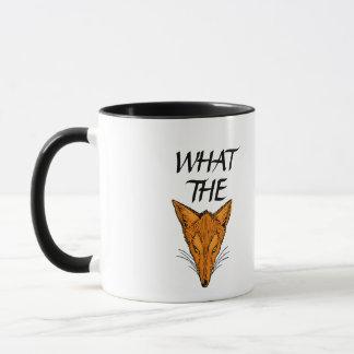 WHAT THE FOX MUG