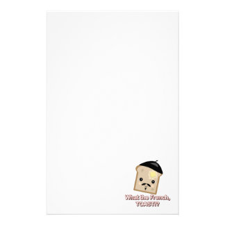 what the french toast stationery
