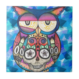 What the hoot? small square tile