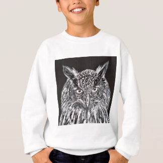 what the owl sees sweatshirt