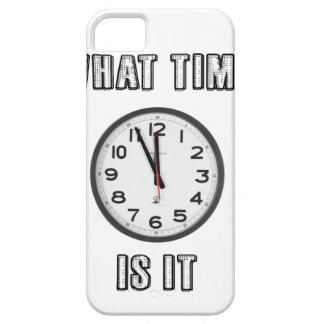 what time is it, clock case for the iPhone 5