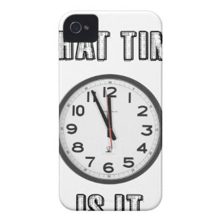 what time is it, clock iPhone 4 covers