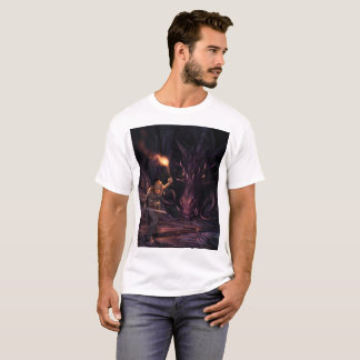 What was that? A Dragon watches a warrior T-Shirt