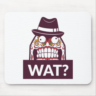 what wat scary teeth design mouse pad