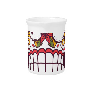 what wat scary teeth design pitcher