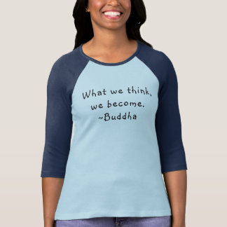 What We Think Buddha Women's Baseball Tee
