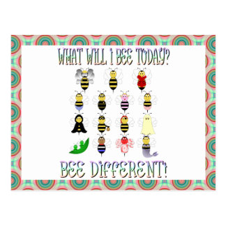 What Will I Bee Today Postcard