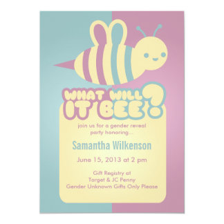 Unknown Gender Baby Shower Invitations & Announcements ...