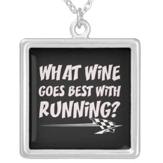 What Wine Goes With Running Silver Plated Necklace
