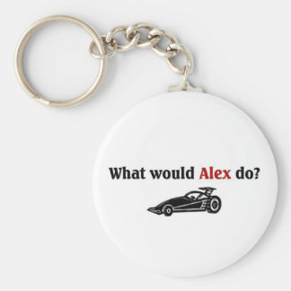 What would Alex do Key Ring