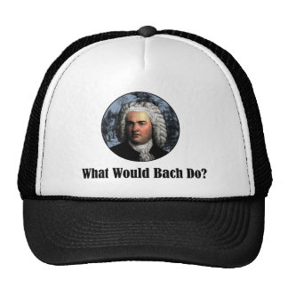 What Would Bach Do? Cap