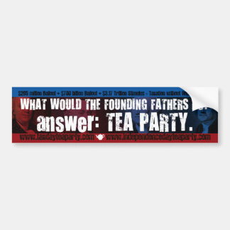What Would...bumper sticker Bumper Sticker