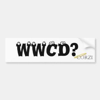 What Would Corzi Do? Bumper Sticker
