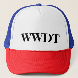 What Would Donald Tweet? (hat) Trucker Hat
