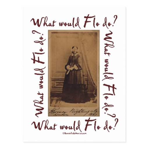 What would Flo Do? Florence Nightingale Postcards