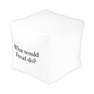 what would freud do cube pouffe
