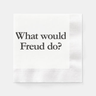 what would freud do paper serviettes