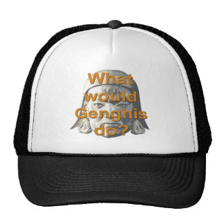 What Would Genghis Do Hat