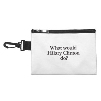 what would hilary clinton do accessory bag