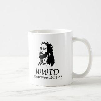 What Would I Do Classic White Coffee Mug