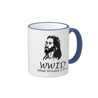 What Would I Do Ringer Coffee Mug