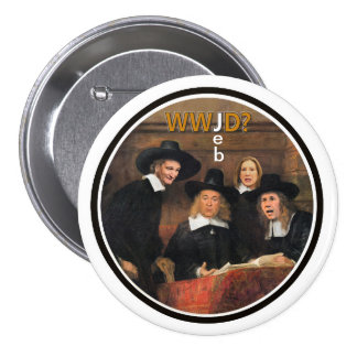 What Would J(eb) Do? 7.5 Cm Round Badge
