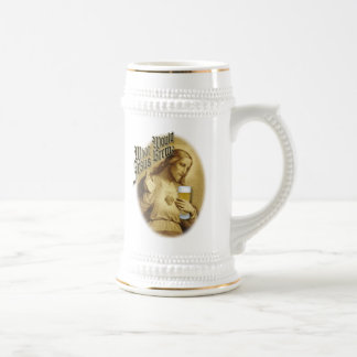 What Would Jesus Brew Beer Stein