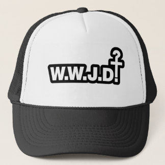 What Would Jesus Do? Trucker Hat
