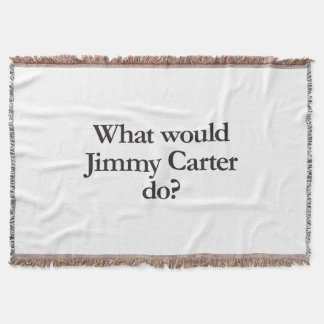 what would jimmy carter do