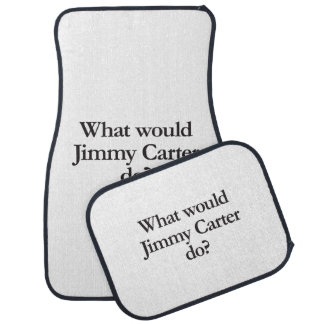 what would jimmy carter do car mat