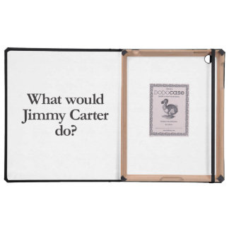 what would jimmy carter do iPad folio cover