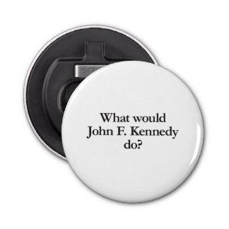 what would john f kennedy do bottle opener
