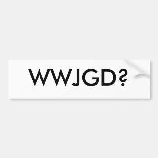 What Would John Galt Do? Bumper Sticker