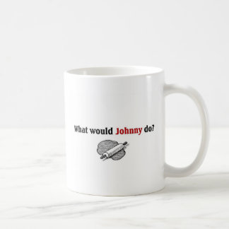 What would Johnny do Coffee Mug