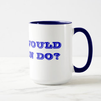 WHAT WOULD JOHNSON DO? MUG