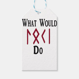 What Would LOKI Do Gift Tags