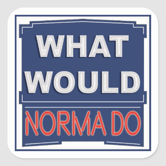 What would Noma Do Motel Sign Sticker