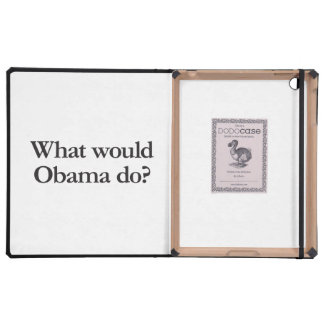 what would obama do iPad covers