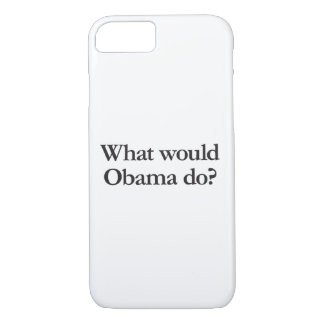 what would obama do iPhone 7 case