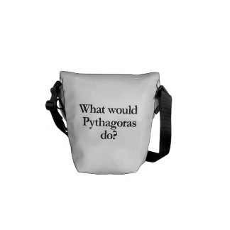 what would pythagoras do courier bags