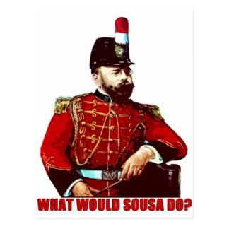 What Would Sousa Do? Postcard