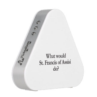 what would st francis of assisi do speaker