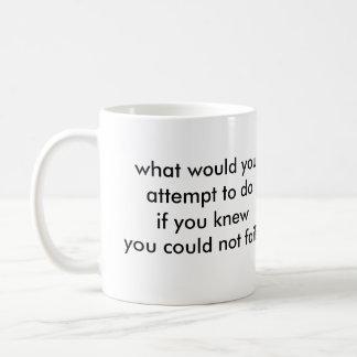 What would you do? coffee mug