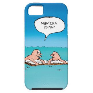 Whatcha Doing? Shipwreck Cartoon iPhone 5 Covers